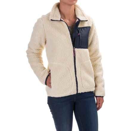 Burton Bombay Fleece Jacket - Full Zip (For Women) in Canvas - Closeouts