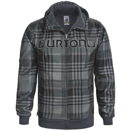 Burton Bonded Hooded Sweatshirt - Full Zip (For Men) in Team Blue