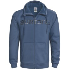 Burton Bonded Hooded Sweatshirt - Full Zip (For Men) in Team Blue - Closeouts