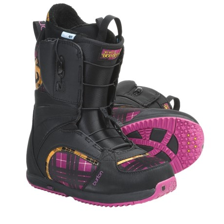 Burton Bootique Snowboard Boots (For Women) in Black/Pink