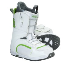 Burton Bootique Snowboard Boots (For Women) in White/Green - Closeouts