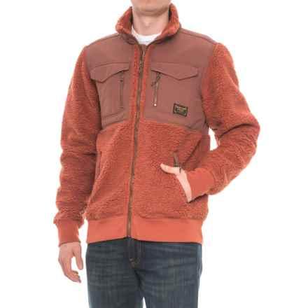 Burton Bower Fleece Jacket - Full Zip (For Men) in Picante - Closeouts