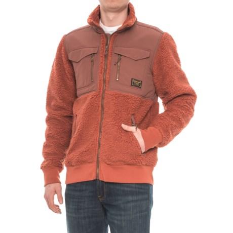 Burton Bower Fleece Jacket - Full Zip (For Men) in Picante