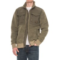 Burton Bower Mens Sherpa Fleece Jacket Deals