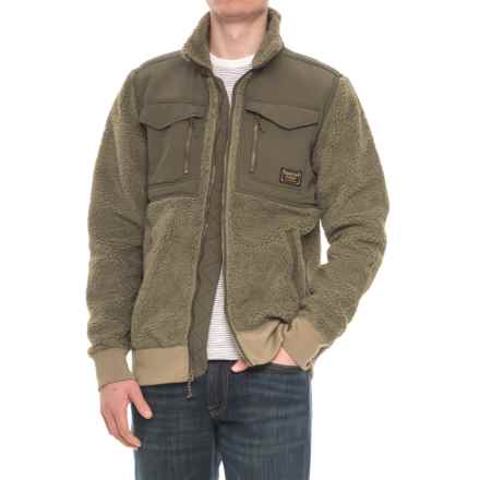 Burton Bower Fleece Jacket - Full Zip (For Men) in Rucksack - Closeouts