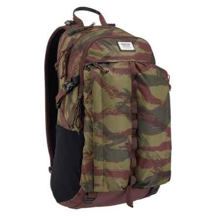 Burton Bravo Backpack in Brushstroke Camo - Closeouts