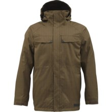 Burton Breach Jacket - Insulated (For Men) in Sentinal - Closeouts