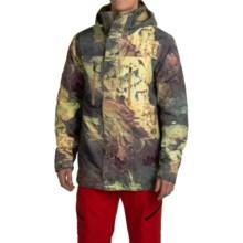 Burton Breach Snowboard Jacket - Waterproof, Insulated (For Men) in Sandy Scars Satellite Series - Closeouts