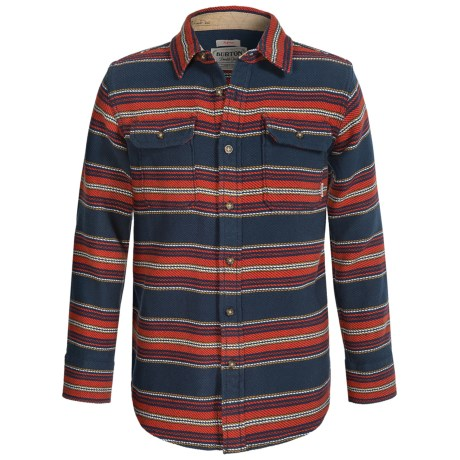 Burton Brighton Plaid Flannel Shirt Long Sleeve (For Little and Big Boys)
