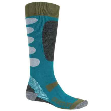 Burton Buffer II Snowboard Socks - Over the Calf (For Men) in Pipeline - Closeouts