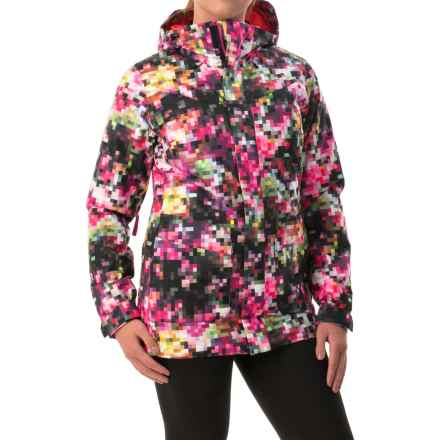 Burton Cadence Snowboard Jacket - Waterproof, Insulated (For Women) in Pixel Floral - Closeouts