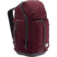 Burton Cadet Backpack in Zinfandel Heringbone - Closeouts