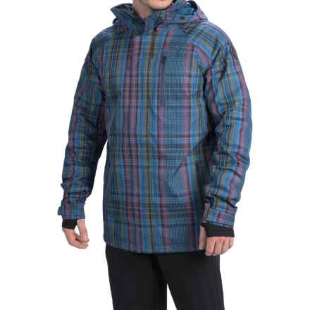 Burton Caliber Snowboard Jacket - Waterproof (For Men) in Mercer Plaid - Closeouts