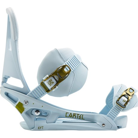 Burton Cartel EST Snowboard Bindings in Sky/Earth