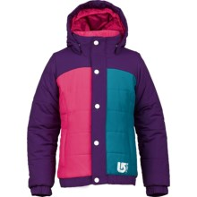Burton Cascade Puffy Snowboard Jacket - Waterproof, Insulated (For Girls) in Enchanted/Hot Streak/Bohemian - Closeouts