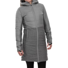 Burton Caster Trench Jacket - Insulated (For Women) in Monument - Closeouts