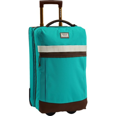 Burton Charter Roller Expandable Rolling Suitcase