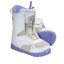 Burton Chloe Snowboard Boots - Speed Lacing System (For Women) in White/Multi - Closeouts