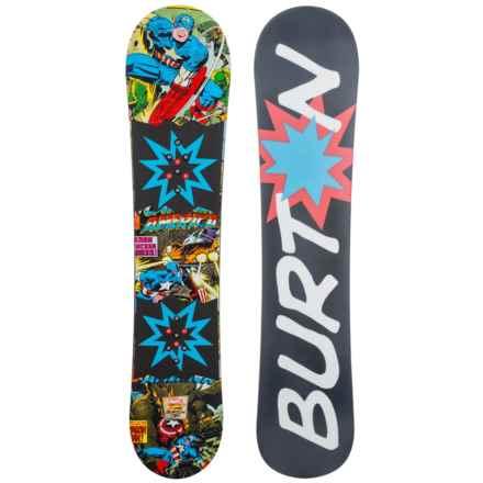 Burton Chopper LTD Marvel® Snowboard (For Big Kids) in Captain America - Closeouts