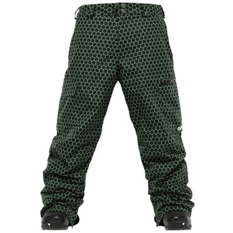 Burton Classic Cargo Snow Pants (For Men) in Astroturf Dot