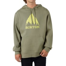 Burton Classic Mountain Pullover Hoodie (For Men) in Light Olive - Closeouts