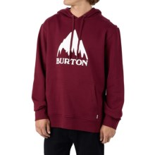 Burton Classic Mountain Pullover Hoodie (For Men) in Zinfandel - Closeouts