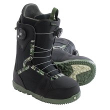 Burton Concord BOA® Snowboard Boots (For Men) in Black/Camo - Closeouts