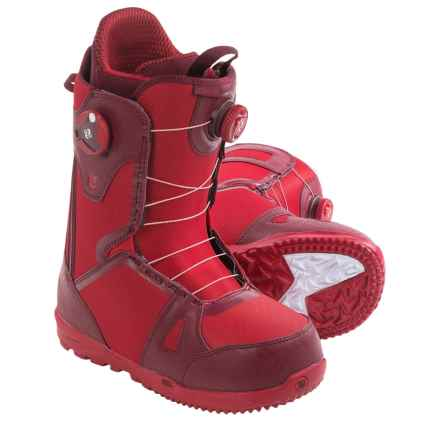 Burton Concord BOA® Snowboard Boots (For Men) in Redrum - Closeouts
