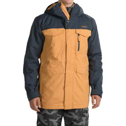 Burton Covert 2L Jacket - Insulated (For Men) in Eclipse/Syrup - Closeouts