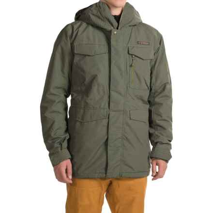 Burton Covert 2L Jacket - Insulated (For Men) in Keef Underpass Twill - Closeouts