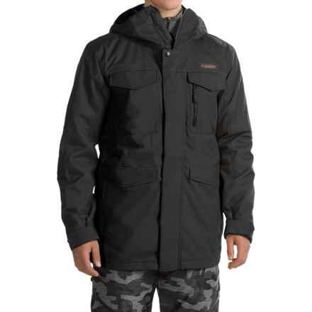 Burton Covert 2L Jacket - Insulated (For Men) in True Black - Closeouts