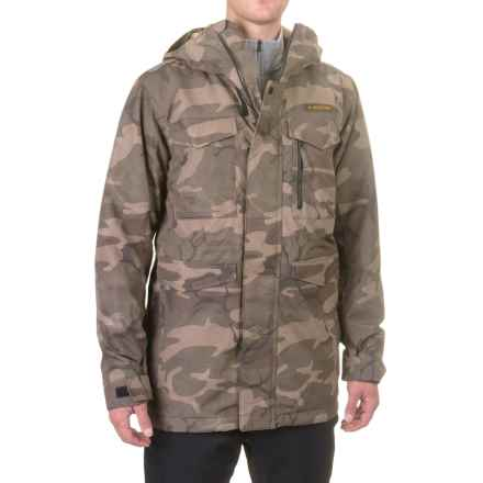 Burton Covert Snowboard Jacket - Waterproof, Insulated (For Men) in Bkamo - Closeouts