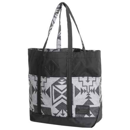 Burton Crate Tote Bag - Medium in Neu Nordic Print - Closeouts