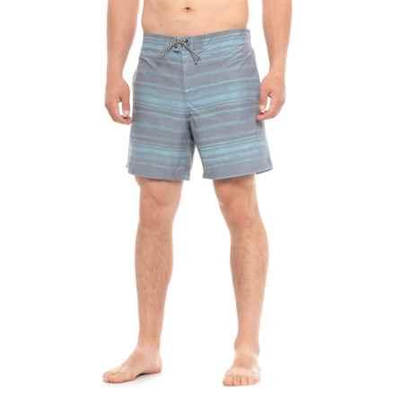 Burton Creekside Boardshorts (For Men) in Arigato Stripe - Closeouts