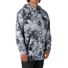 Burton Crown Bonded Fleece Hoodie Sweatshirt - Pullover (For Men) in Glacier - Closeouts