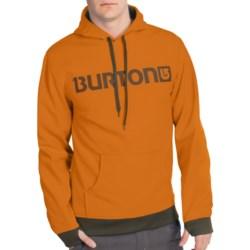 Burton Crown Bonded Fleece Hoodie Sweatshirt - Pullover (For Men) in Night Rider Work