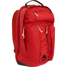 Burton Curbshark 26L Backpack in Flame Triple Ripstop - Closeouts