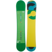 Burton Custom Flying V Snowboard in 163 Graphic - Closeouts
