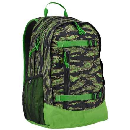 Burton Day Hiker 20L Backpack (For Big Kids) in Slime Camo Print - Closeouts