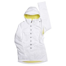 Burton Debbie Jacket - Insulated (For Juinior Girls) in Bright White - Closeouts