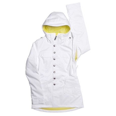 Burton Debbie Jacket - Insulated (For Juinior Girls) in Bright White