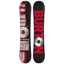 Burton Descendant Snowboard in Retro Vibes/Black/Red - 2nds