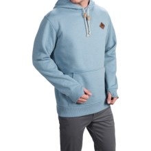 Burton Distill Hoodie (For Men) in Dutch Blue Heather - Closeouts