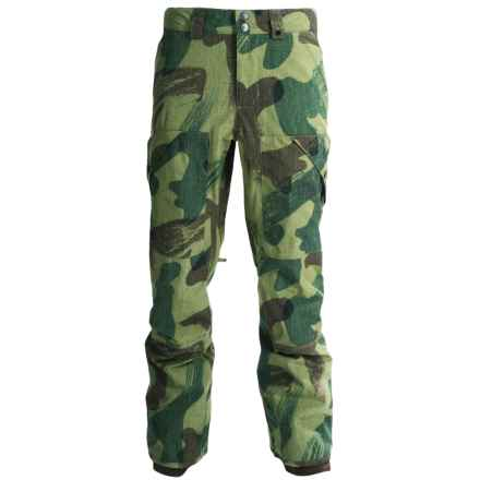 Burton Drifter Gore-Tex® Snowboarding Pants - Waterproof (For Men) in Denison Camo - Closeouts