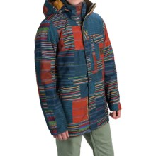 Burton Dune Gore-Tex® Snowboard Jacket - Waterproof, Insulated (For Men) in Sherpa Print - Closeouts