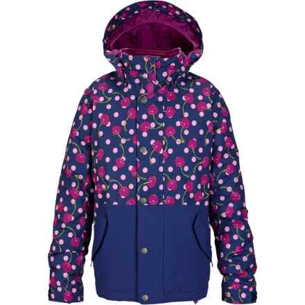 Burton Echo Jacket - Waterproof, Insulated (For Little and Big Girls) in Tutti Frutti/Spellbound - Closeouts
