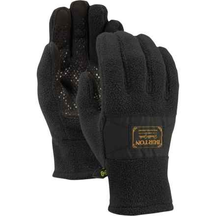 Burton Ember Fleece Gloves - Touchscreen Compatible (For Men) in True Black - Closeouts