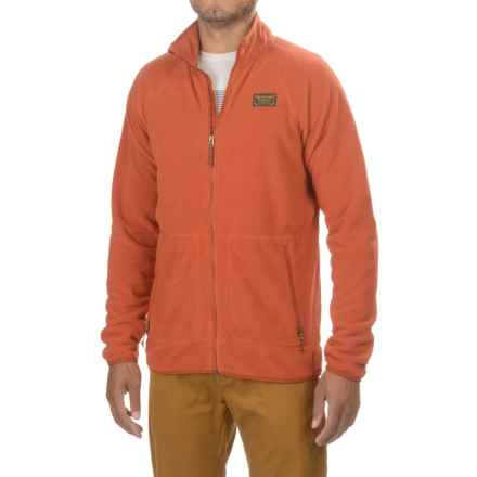 Burton Ember Fleece Jacket - Full Zip (For Men) in Picante - Closeouts
