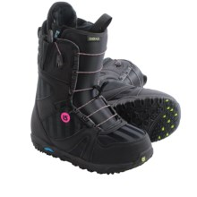 Burton Emerald Snowboard Boots (For Women) in Black/Multi - Closeouts