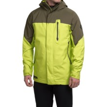 Burton Encore Snowboard Jacket - Waterproof, Insulated (For Men) in Venom/Keef Block - Closeouts